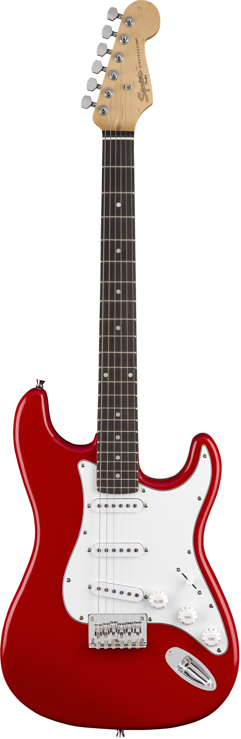 FENDER SQUIER MM STRATOCASTER HARD TAIL RED электрогитара